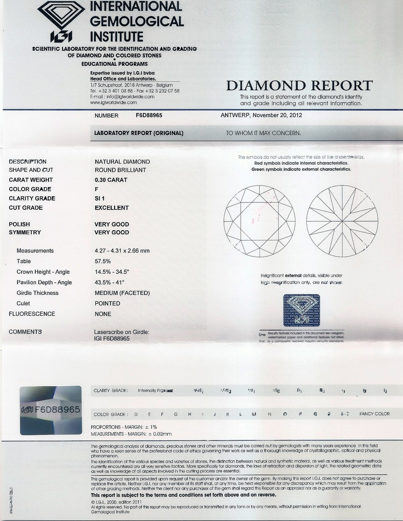 Diamante naturale Brillante - diamf6d88965